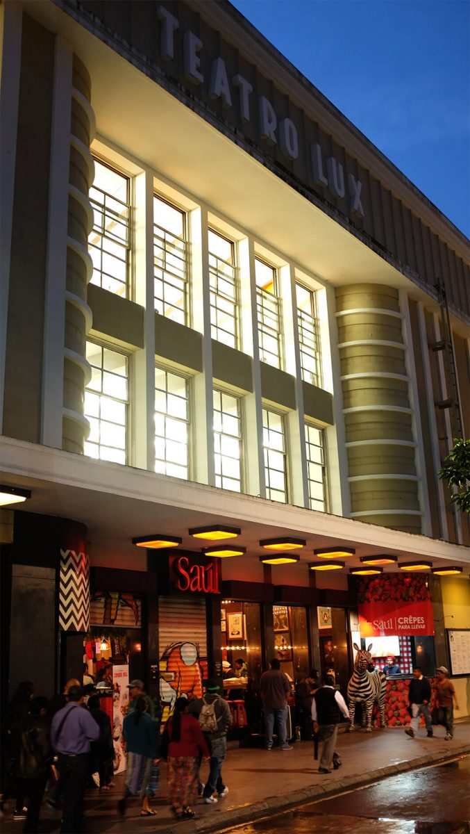Saúl Bistro Teatro Lux
