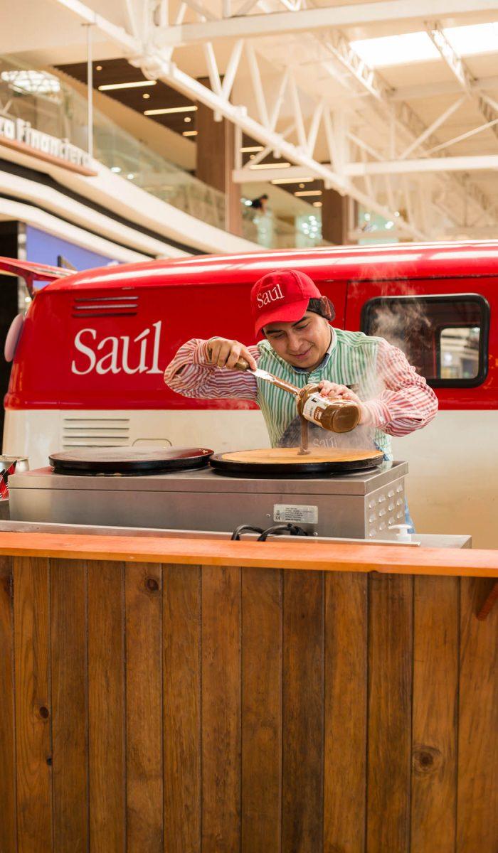 Saúl Crêpes Oakland Mall