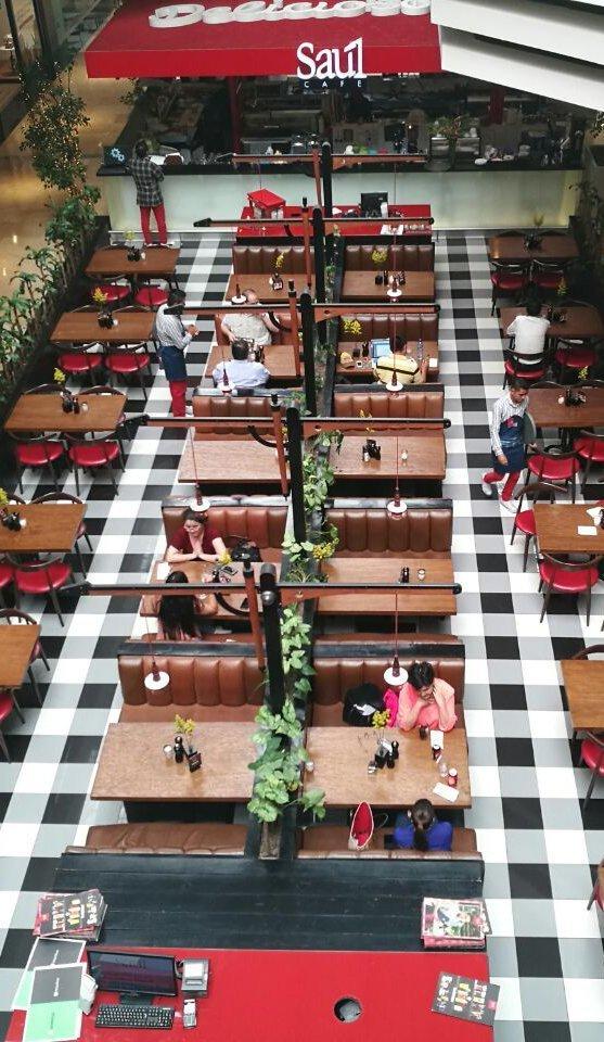 Saúl Café Oakland Mall